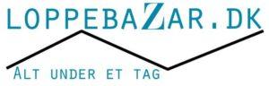 Loppebazar - Nyt loppemarkeds koncept i Sønderborg logo