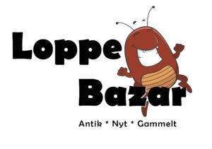 Loppe Bazar - Antik * Nyt * Gammelt logo